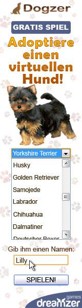 Dogzer: gratis Spiel auf Internet, einen Hund aufziehen