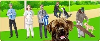 Kümmere dich um die Hunde der anderen Züchter in deinem Hundesalon oder in deiner Tierklinik, damit sie mit Hilfe der Angestellten deines Hundeklubes fortschreiten.